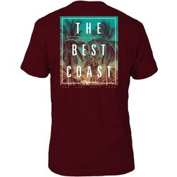 FloGrown Mens Best Coast Short Sleeve T-Shirt