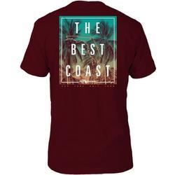 Mens Best Coast Short Sleeve T-Shirt