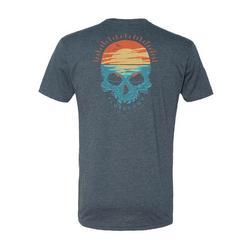 Mens Sunset Skull T-shirt
