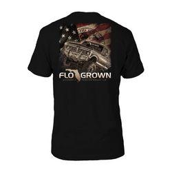 FloGrown Mens Mud Truck Graphic T-Shirt