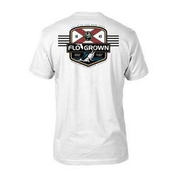 FloGrown Mens Saltwater Classic Badge T-shirt