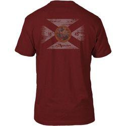FloGrown Mens Vintage Flag T-Shirt