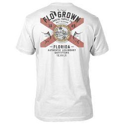 FloGrown Mens Vintage Florida Seal T-shirt