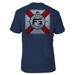 Mens FL Flag Square T-shirt