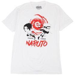 Naruto Mens Solid Graphic T-Shirt