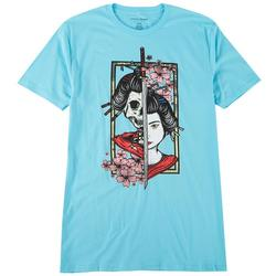 Mens Original Black Life & Death Graphic T-Shirt