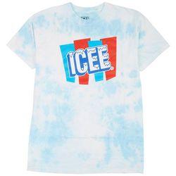 Ripple Junction Mens Icee Tie Dye Graphic T-Shirt