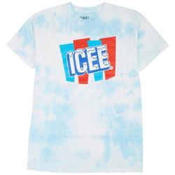 Mens Icee Tie Dye Graphic T-Shirt