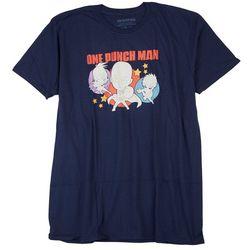 City Scene Mens One Punch Man Graphic T-Shirt