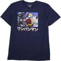City Scene Mens One Punch Graphic T-Shirt