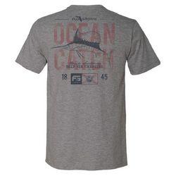 FloGrown Mens Ocean Catch Heathered T-Shirt