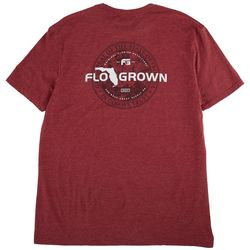 FloGrown Mens Best Coast Seal Heathered Graphic T-Shirt