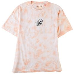 Visitor Mens Embroidered Paradise Tie-Dye T-Shirt