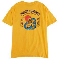 Visitor Mens Panda Warrior Graphic T-Shirt