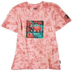 Brooklyn Cloth Mens MCMXCI Roses Graphic Tie Dye T-Shirt
