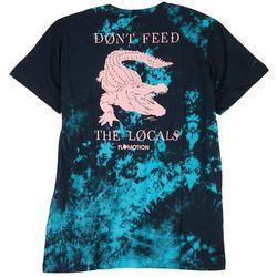 Flomotion Mens The Locals Tie Dye Graphic T-Shirt