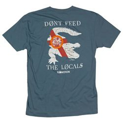 Flomotion Mens Don't Feed The Locals T-shirt