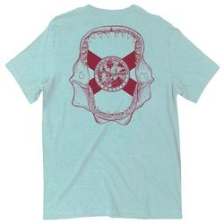 Flomotion Mens Jaws Graphic T-Shirt