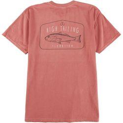 Flomotion Mens Red Fish T-Shirt