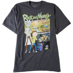 Rick & Morty Mens From Dimension C137 T-Shirt