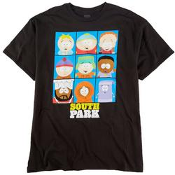 Mens Boxed Characters Graphic T-Shirt