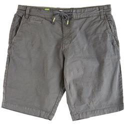Projek Raw Mens Solid Drawstring Shorts