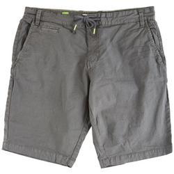 Mens Solid Drawstring Shorts