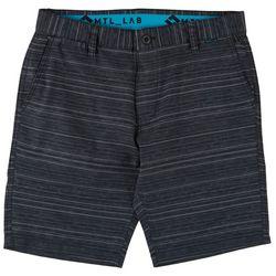 Projek Raw Mens MTL_LAB Heathered Stripe Shorts