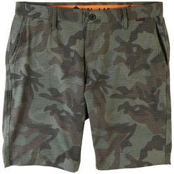 Mens Camo Hybrid Shorts