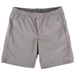Hollywood Mens Ultimate Stretch Pull On Grid Shorts