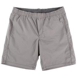 Mens Ultimate Stretch Pull On Grid Shorts