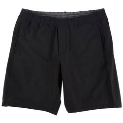 Hollywood Mens Ultimate Pull On Knit Solid Shorts