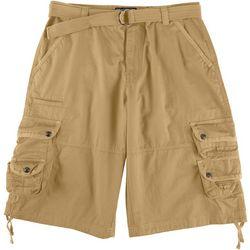 Company 81 Mens Solid Twill Cargo Shorts
