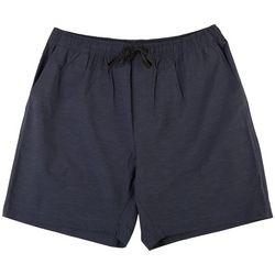 Burnside Mens Solid Hybrid Pull On Shorts