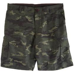 Mens Traveler Cargo Camo Shorts