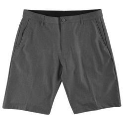 Mens Worldcore Heathered Hybrid Shorts