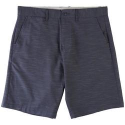 Mens Hybrid Series Heathered Premier Shorts