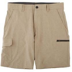 Burnside Mens Traveler Cargo Shorts