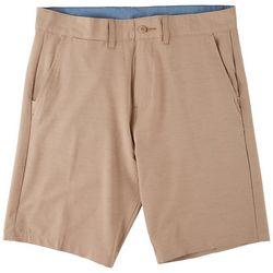 Burnside Mens Hybrid Series Heathered Premier Shorts