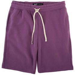 BROOKLYN CLOTH Mens The Knit Solid Snap Pocket Shorts
