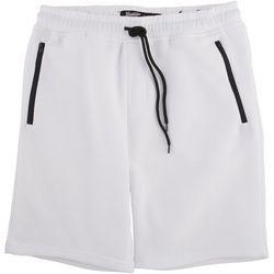 BROOKLYN CLOTH Mens The Knit Solid Fleece Shorts