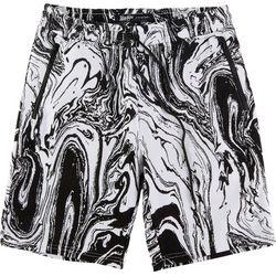BROOKLYN CLOTH Mens Oil Slick Fleece Shorts