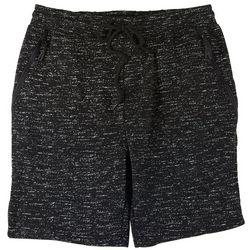 BROOKLYN CLOTH Mens Static Print Fleece Shorts