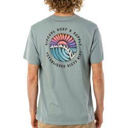 Rip Curl Mens Sunsets Short Sleeve T-Shirt