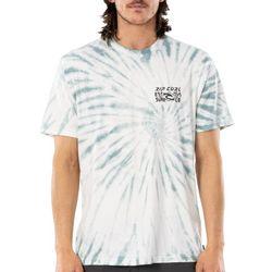Rip Curl Mens Cosmic Tie Dye Short Sleeve T-Shirt