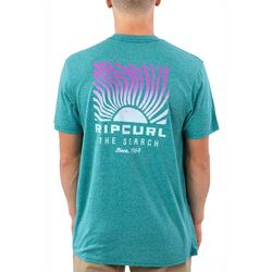 Rip Curl Mens Solar Mock Twist T-Shirt