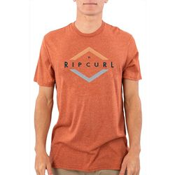 Rip Curl Mens Vibrant Mock Twist Short Sleeve T-Shirt