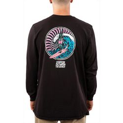 Rip Curl Mens Shred When Dead Heritage Long Sleeve T-Shirt