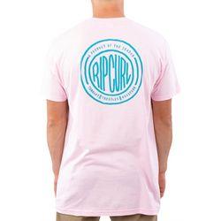 Rip Curl Mens Handwritten Premium Short Sleeve T-Shirt