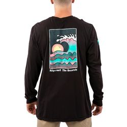Rip Curl Mens Big Wednesday Heritage Long Sleeve T-Shirt